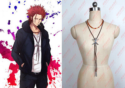 K Suoh Mikoto cosplay Kostüm Costume Halskette Necklace Pendant Set