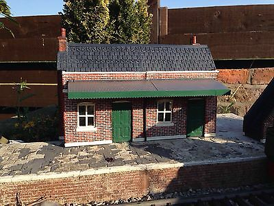 Garden Railway G Gauge 1:24th Scale Village Railway Station