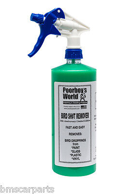 Poorboy's Bird Sh#t remover with spray - remove bird poo.