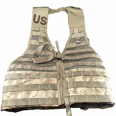 NEW Fighting Load Carrier Vest ACU LBV FLC Tactical Army MOLLE II NIB
