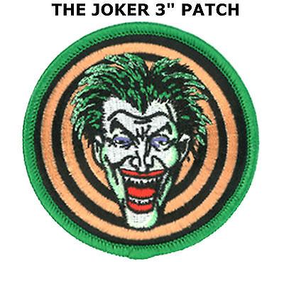 Batman THE JOKER Certified Insane Arkham Asylum IRON ON PATCH Applique US Seller
