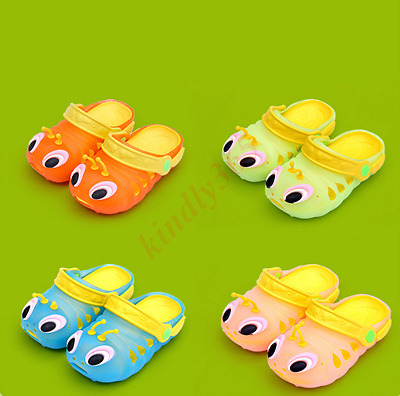 2018 New Summer Kids Boys Girls Child Caterpillar Shoe Baby Infant Slippers