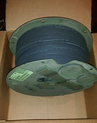 NEW Military 2 Channel Black Fiber Optic Cable 300m Radiation Hardened 984ft