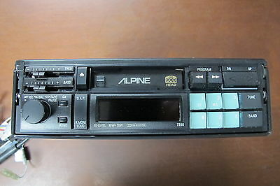 Alpine 7280 Vintage Old School AM/FM Cassette Stereo Pull Out