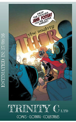 MIGHTY THOR #10 *17/08/16* NM New
