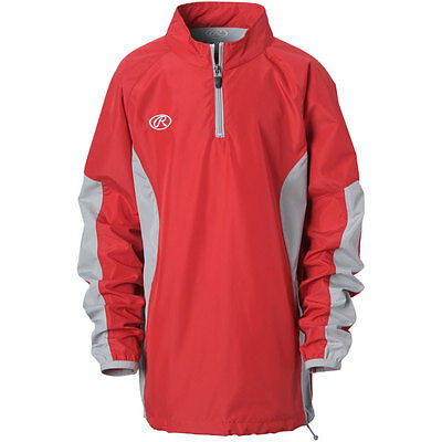 Rawlings Youth Quarter-Zip Pullover Jackets