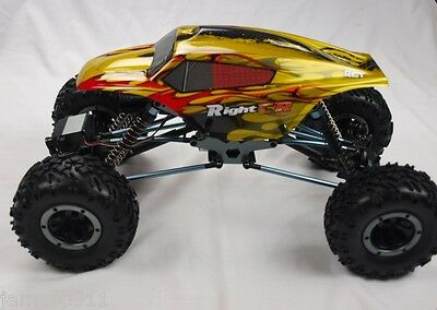 1/10 4x4 ROCK CRAWLER RC REMOTE CONTROL HSP ELECTRIC READY TO GO 4WD TRUCK YLW