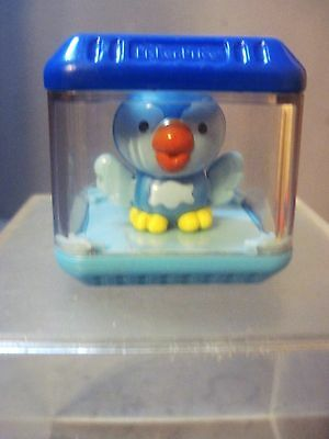 Fisher Price Peek A Blocks  BLUE BIRD BLOCK  Replacement Block