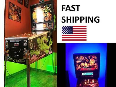 METALLICA PINBALL MACHINE MOD - under cabinet light - SUPER