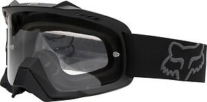 Fox Mx Gear 2017 AIRSPC MATTE BLACK Motocross Goggles