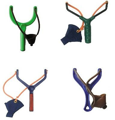Bait Catapult Fishing Hunting Sling Shot Pouch Power Pult 4 models
