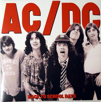 "AC/DC Back To School Days 12"" VINYL 2LP"