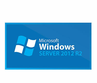 Microsoft Windows Server 2012 R2 Standard w/25 CAL's