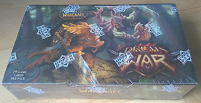 World of Warcraft TCG - Drums of War Display Booster Box - englisch - english