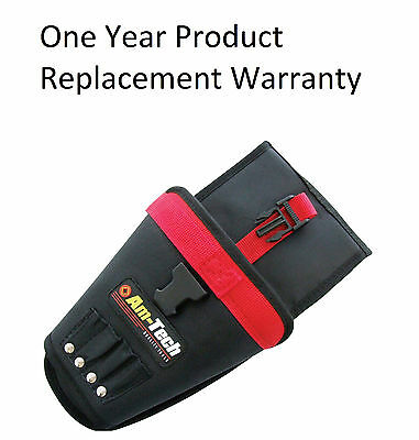New Am-Tech Heavy Duty Cordless Drill Holster Holder Pouch Belt Tool Bag