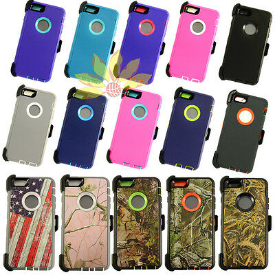 For Apple iPhone 6S Plus Case Cover(w/Belt Clip fits Otterbox Defender series)