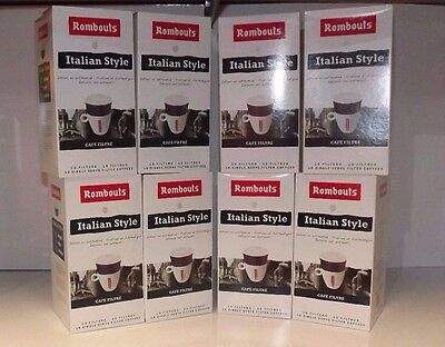 Rombouts Italian Style Roasted Ground Coffee / Filters  (variation  Packs)