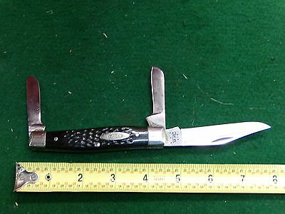Vintage Case Large Stockman Factory Refurbished with New Blade
