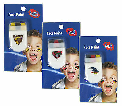 AFL Face Paint Stick