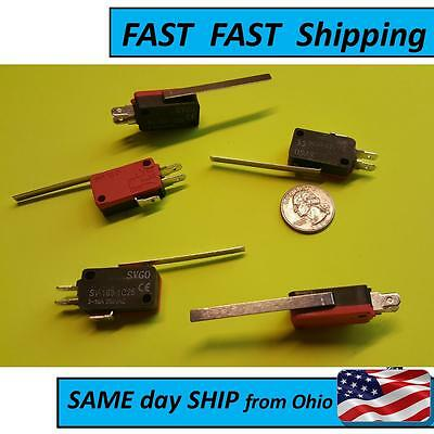 2 PACK ---- Micro Limit Switch Long Arm - Electrical Engineering Supply