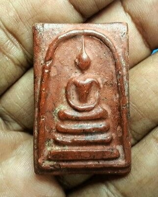 Miracle Magic Red Clay Phra Somdej Toh Wat Rakang Holy Sacred Thai Buddha Amulet