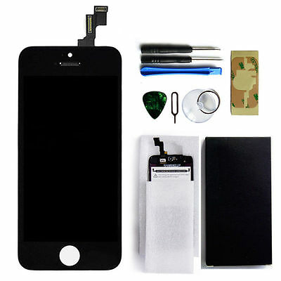 Black LCD Display + Touch Screen Digitizer Assembly Replacement for iPhone 5C