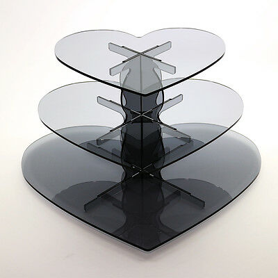 3 Tier Cupcake Stand in 5mm Acrylic (Professional)
