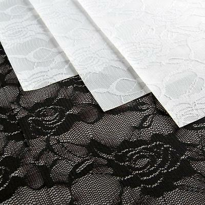 Hotfix Lace - Floral Black and Floral White 12x12 Pack