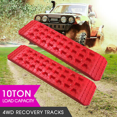 Recovery Tracks 4WD Off Road Tyre Ladder Sand Mud Snow Grass 10Tons w/ Carry Bag