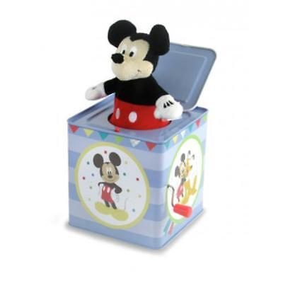 NEW Disney Mickey Mouse Musical Tin Jack in The Box