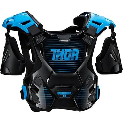 Thor MX NEW Kids Guardian Black Blue Motocross Youth Body Armour - 2XS/XS