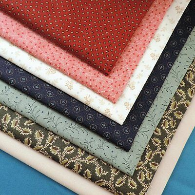QUILT Trinkets by Makower Small Traditional Prints 100% Cotton Fabric Craft