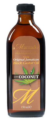 Mamado Aromatherapy Natural Original Jamaican Black Castor Oil With Coconut 150m