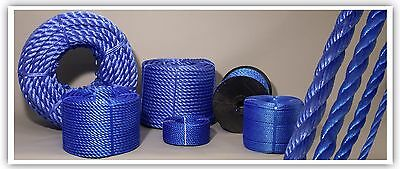 Blue Poly Rope 5mm Polyrope, Polypropylene, Agriculture, Tarpaulins Coil
