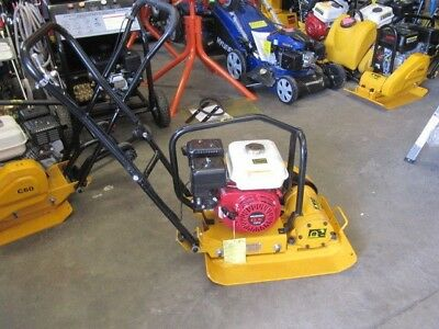 Vibratory Compactor Plate Fitted Air Cooled With Honda GX160 5.5hp Engine
