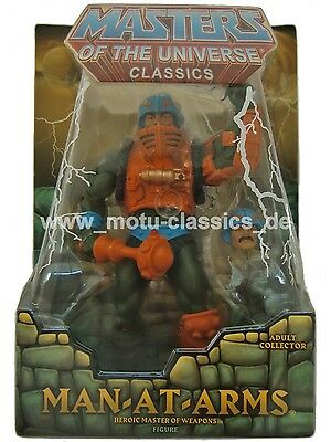 Man at Arms 1. Auflage *BLISTER damaged* Masters of the Universe Classics MOTU