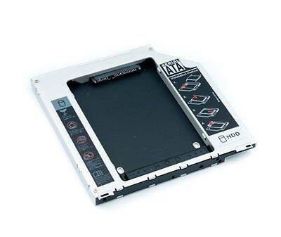 """2ND SATA 2.5"""" HDD Hard Drive Caddy Bay for Apple MacBook Pro Unibody SuperDrive"""