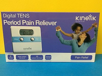 Kinetik Digital TENS period pain reliever With Massage Feature - Medical