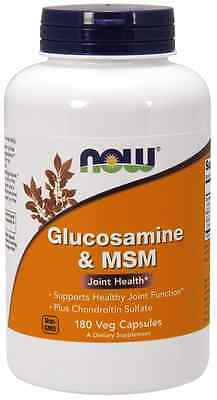 Now Foods Glucosamine and MSM 750 250 mg 180 Caps