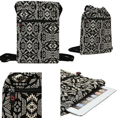 34f86eb8e9c0 6 - 8 inch Tablet Paisley Protective Drawstring Backpack Case Cover ...