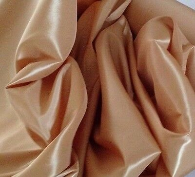 """Burnt  Orange Taffeta  59//60/"""" wide by the yard or roll free swatches."""