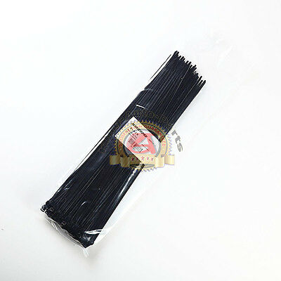 """100 PCS 15"""" inch ZIP Ties Nylon 40 lbs  Strap Cable Wire Tires - Black Free Ship"""