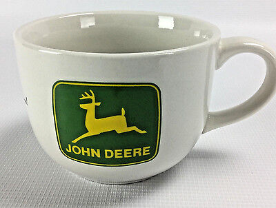 John Deere Logo Tractor Large Oversized Soup Bowl Coffee Mug Tea Cup Gibson