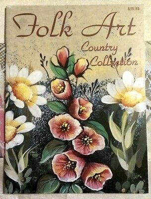Folk Art Country Collection Lyla Kimble, Topmill Painting Projects Book Magazine