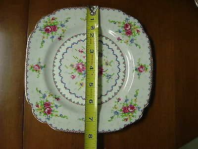 "1 only LUNCHEON PLATE Royal Albert PETIT POINT 7-3/4"" SALAD TC2 Made In England"