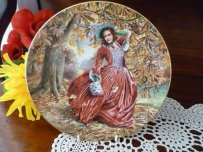 Royal Doulton AUTUMN BREEZES   Plate 1989  MADE IN ENGLAND