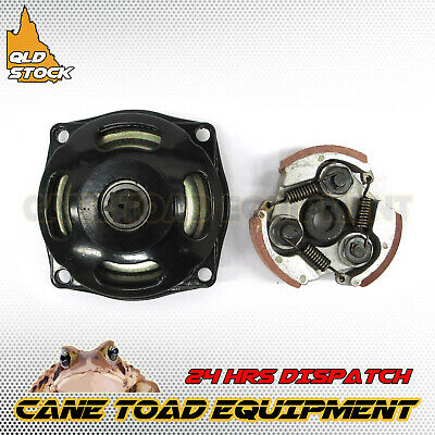 6T 25H Clutch Drum Bell Housing & Pad 47cc 49cc Mini ATV Quad Rocket Bike