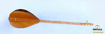 Turkish Quality Long Neck Mahogany  Baglama Saz For Sale Asl-111