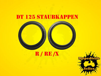 YAMAHA DT 125 Staubkappen 41mm Gabel R / RE / X