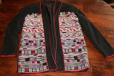 Northern Thailand Hilltribe Padded Jacket Size 100 cm Chest